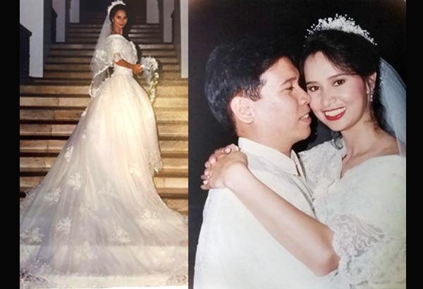 Bebet's wedding on December 16, 1995 to Ronnie Corpuz