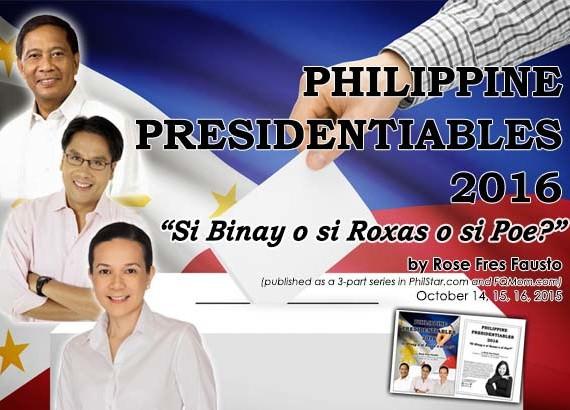 """""""Si Binay o si Roxas o si Poe?"""" (Download your free ebook)"""