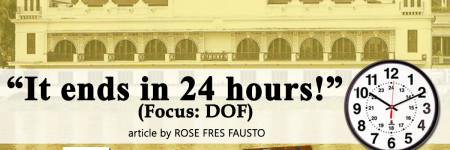 """It ends in 24 hours!"" (Focus: DOF)"