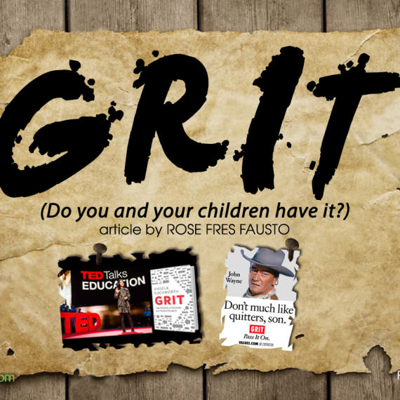 GRIT  (Do you and your children have it?)