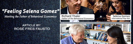 """Feeling Selena Gomez""  Meeting the Father of Behavioral Economics"