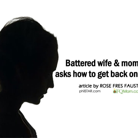 Battered wife & mom of 5 asks how to get back on her feet