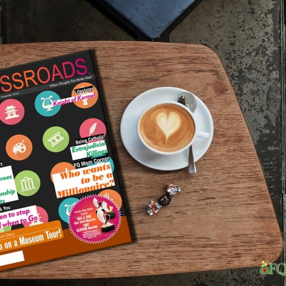 My article entitled Who Wants to Be a Millionaire? now out in Crossroads October-November 2016 Issue
