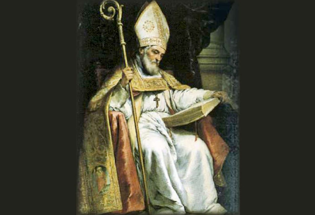 St. Isidore of Seville: Patron Saint of the Internet.