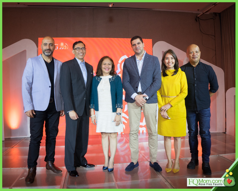 From L-R: ING Chief Information Officer for Retail Banking Ben Issa, ING Phils Country Manager Hans Sicat, BSP Deputy Governor Chuchi Fonacier, ING Philippines Head of Retail Mohamed Keraine, Finance literacy advocate Rose Fausto, Tech Blogger Abe Olandres