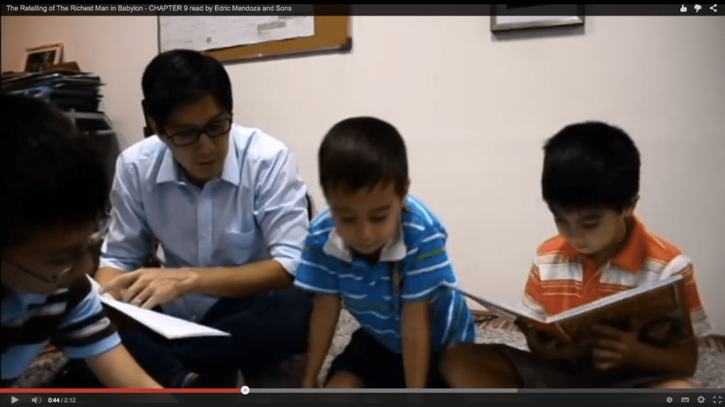 Edric Mendoza & Sons Read The Final Chapter: Who is Ready to be Rich?