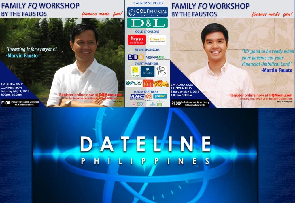Catch M&M on Dateline Philippines (April 26, 2015)