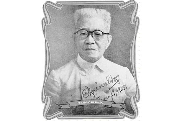 Emilio Aguinaldo in his senior years
