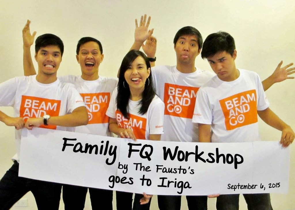 On Site Video: Family FQ Workshop by the Faustos in Iriga City