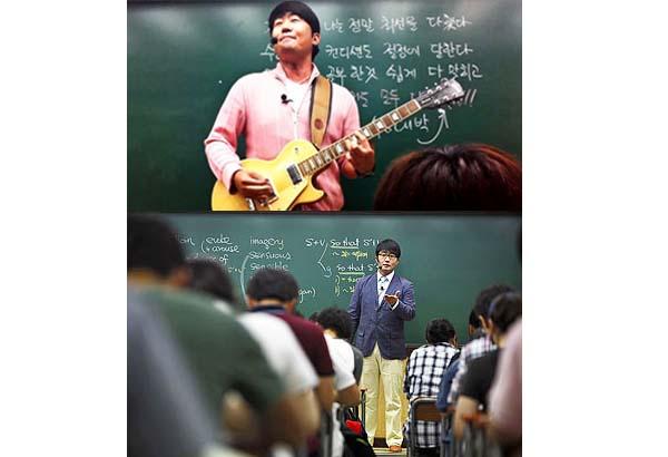 Rock star Korean teacher Kim Ki-hoon