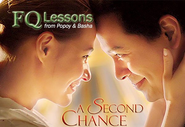 FQ Lessons from Popoy and Basha (from the movie A Second Chance)