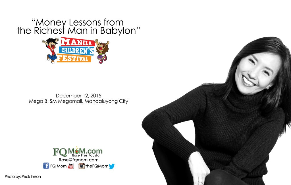 Money Lessons from the Richest Man in Babylon (Manila Children's Festival)