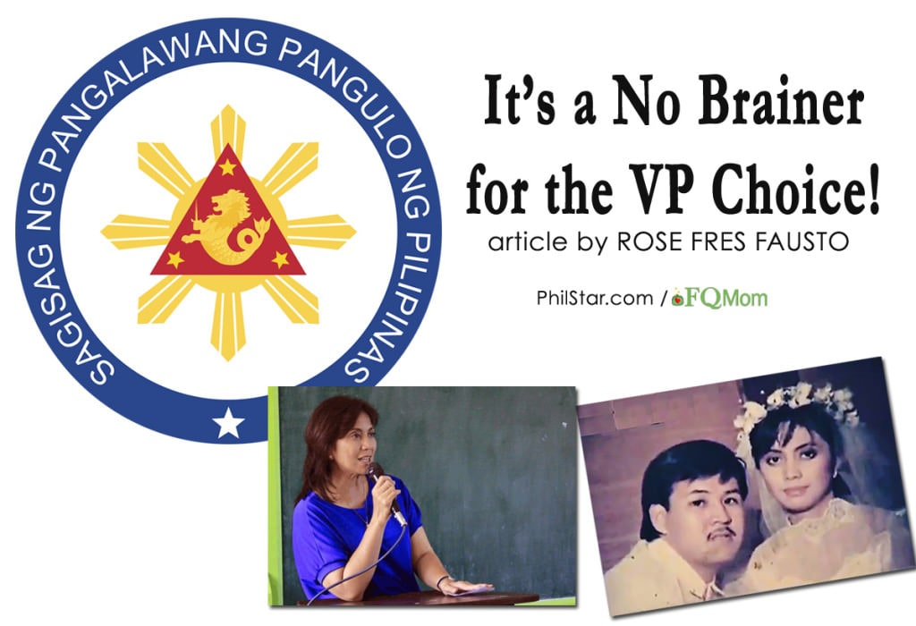It's a No Brainer for the VP Choice!
