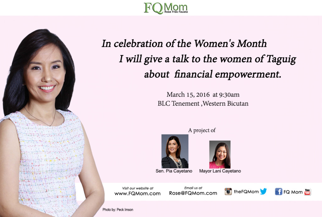 ePoster Womens Month - Taguig