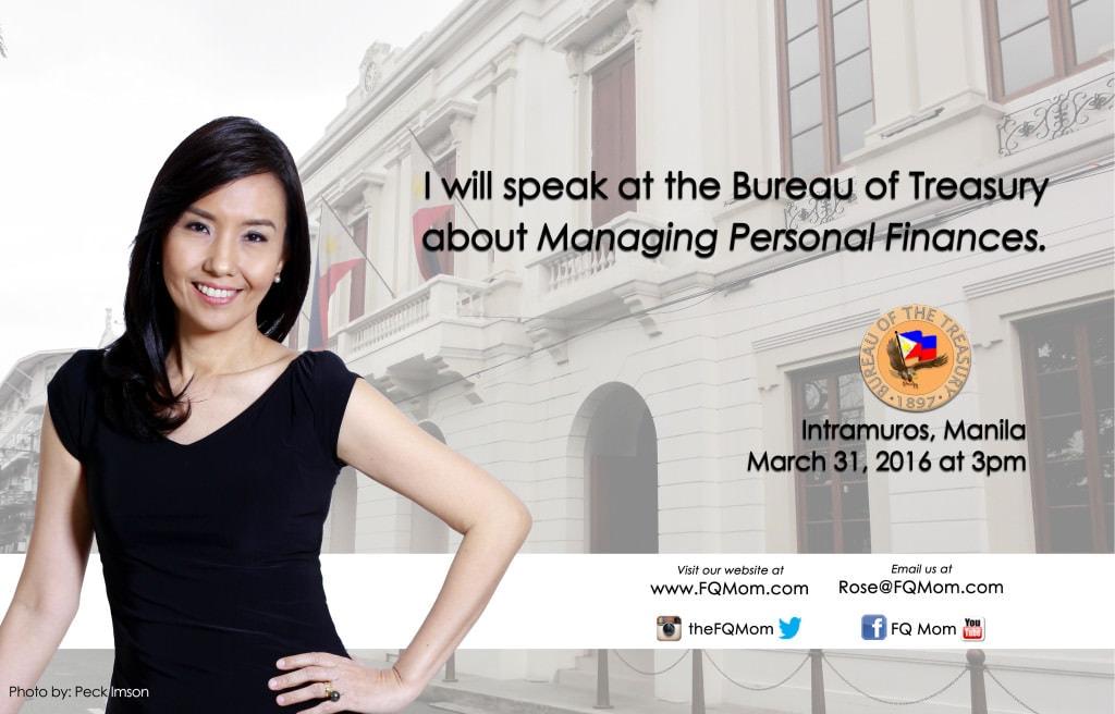 Managing Personal Finances at the Bureau of Treasury