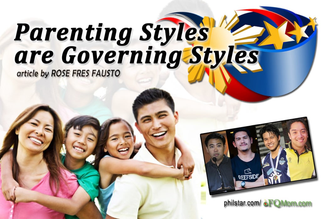 Parenting Styles are Governing Styles