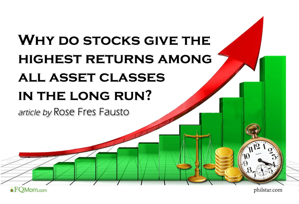 Why do stocks give the highest returns among all asset classes in the long run? (Explain to me as if I were a 7-year old Series #3)