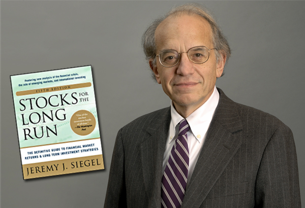 Wharton Finance Professor Jeremy Siegel and his landmark book Stocks for the Long Run