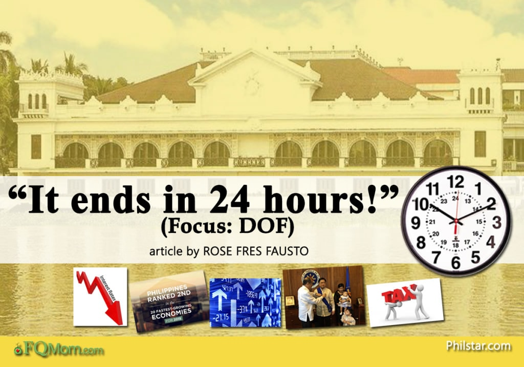 """It ends in 24 hours!"" (Focus: DOF)"
