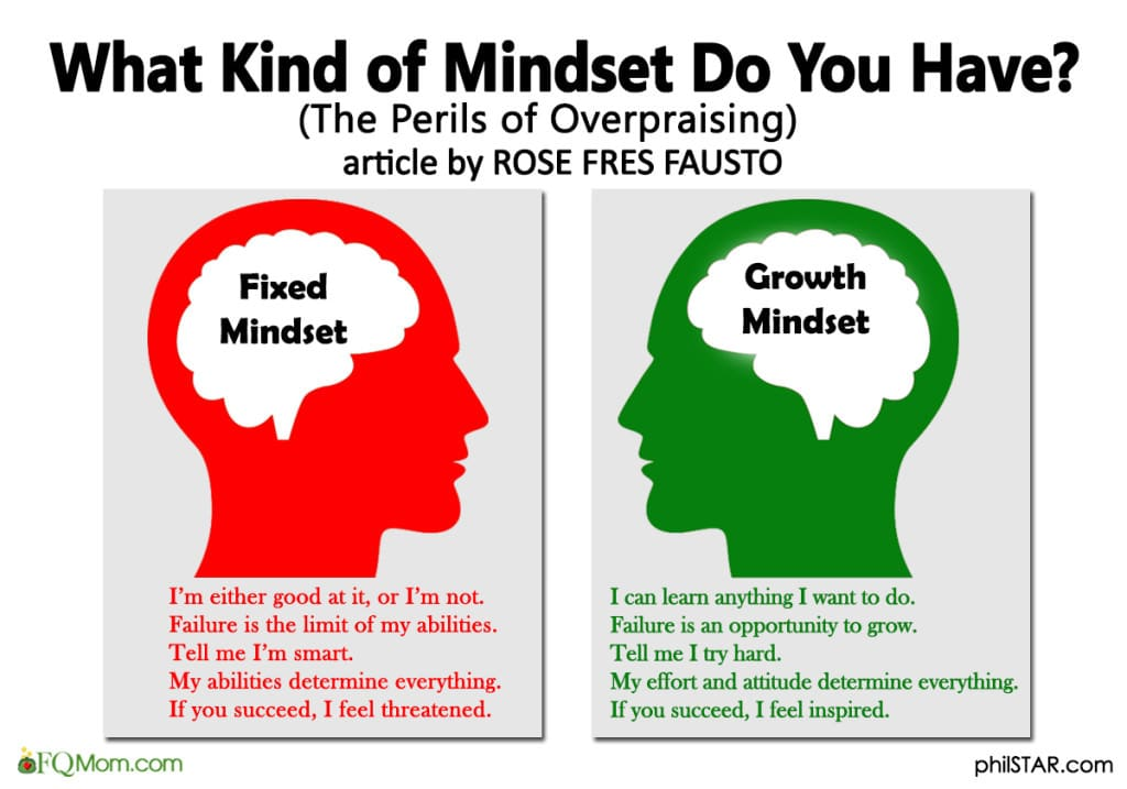 What Kind of Mindset Do You Have?  (The Perils of Overpraising)