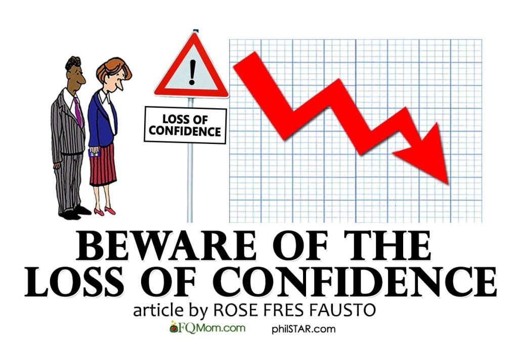 Beware of the Loss of Confidence