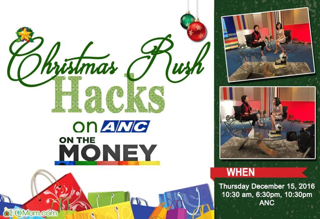 Christmas Rush Hacks on ANC's On The Money!