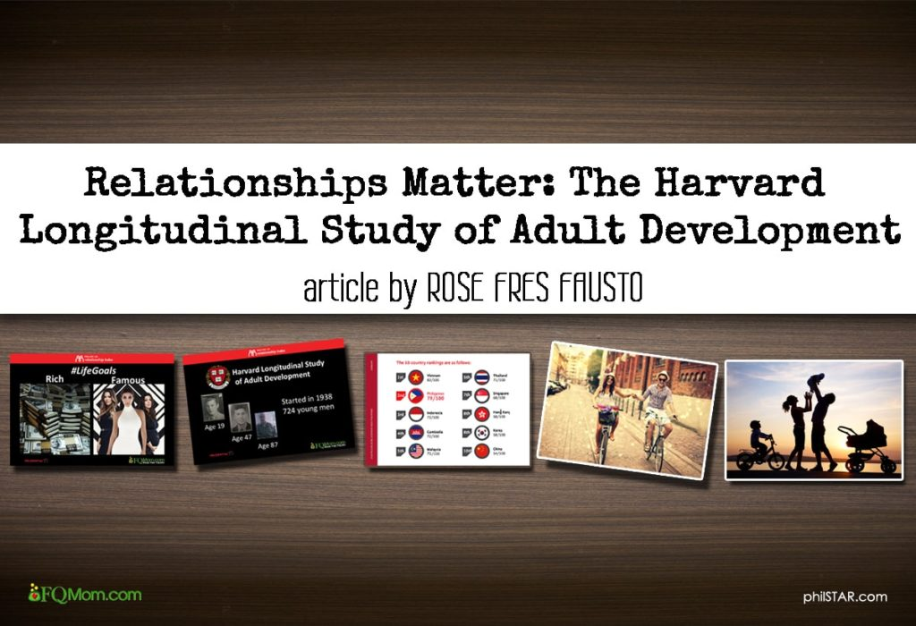 Relationships Matter: The Harvard Longitudinal Study of Adult Development