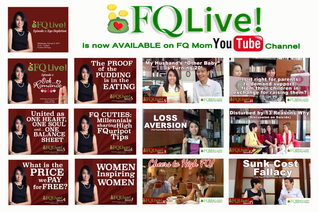 13 Reasons Why (Why you should watch the 13 Episodes of FQ Live! this weekend)