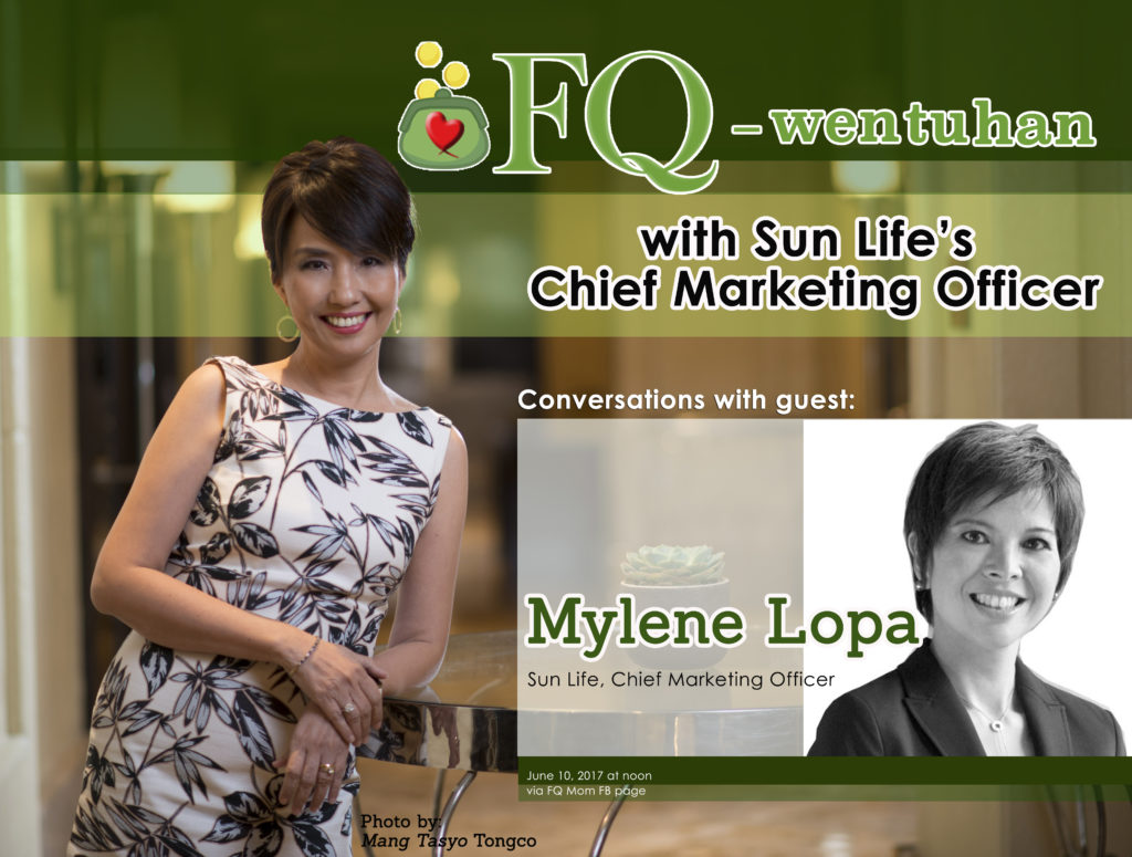 FQ-wentuhan with Sun Life's Chief Marketing Officer
