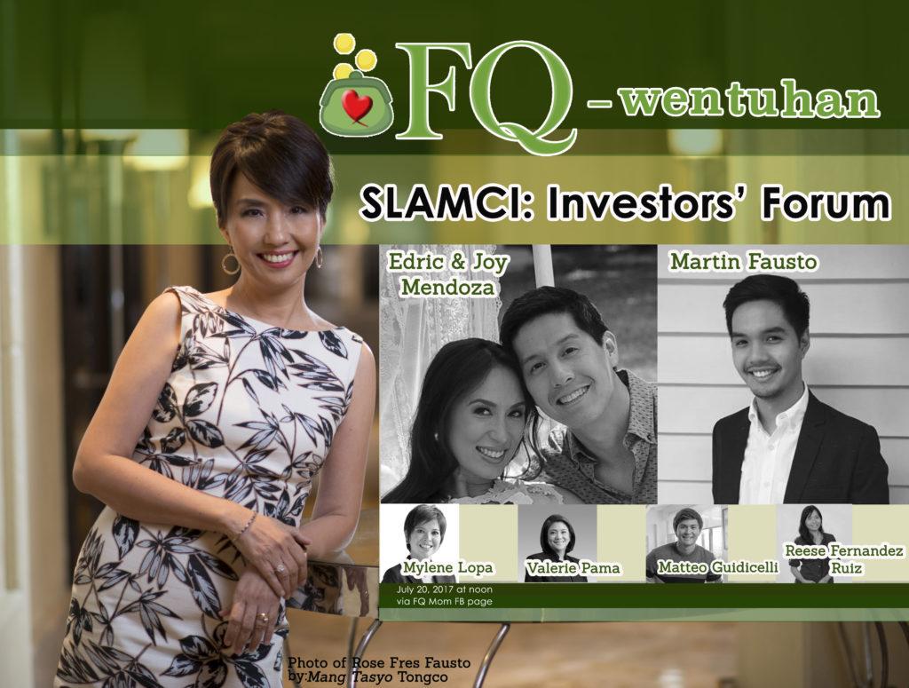 FQ-wentuhan during SLAMCI: Investors' Forum