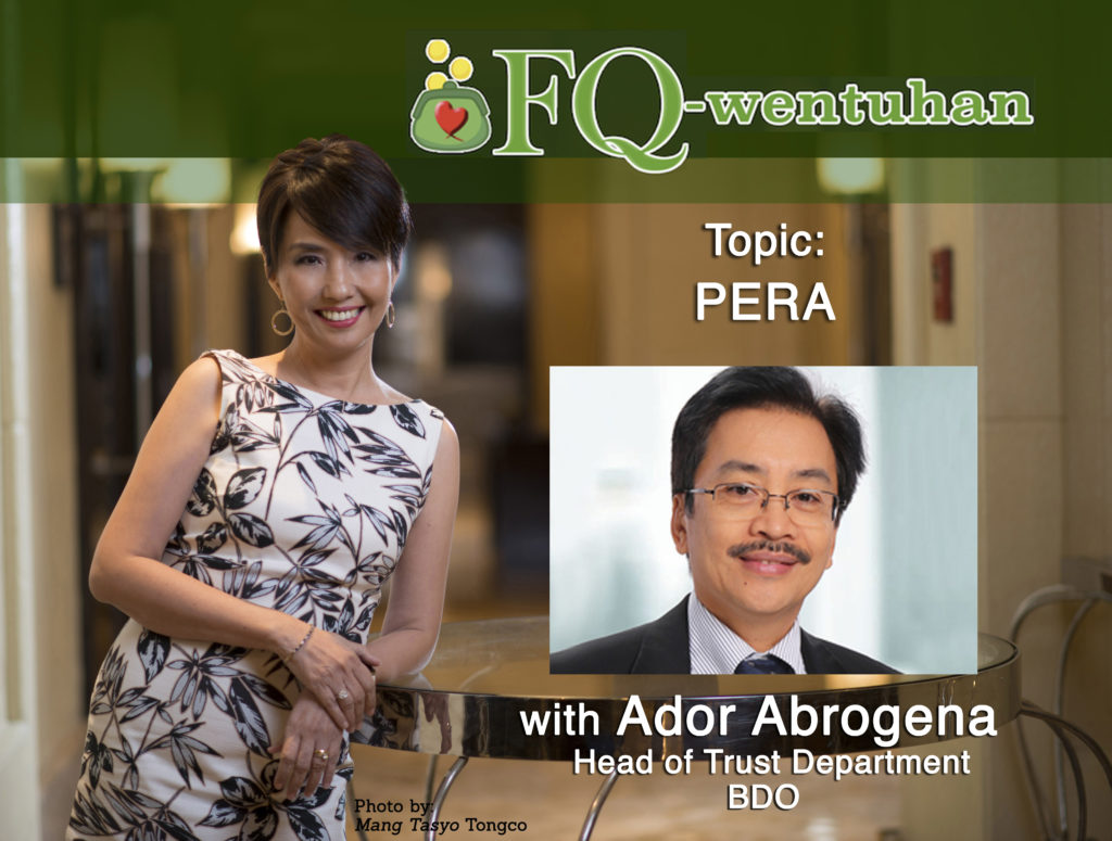 FQwentuhan on PERA (Personal Equity & Retirement Account)
