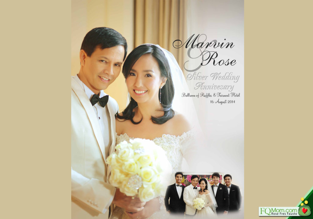 FQwentuhan is short & sweet: It's our Silver Wedding SDE!