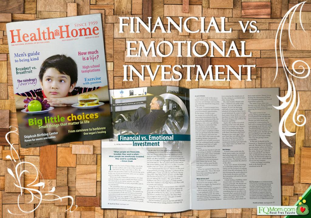 Financial vs Emotional Investing