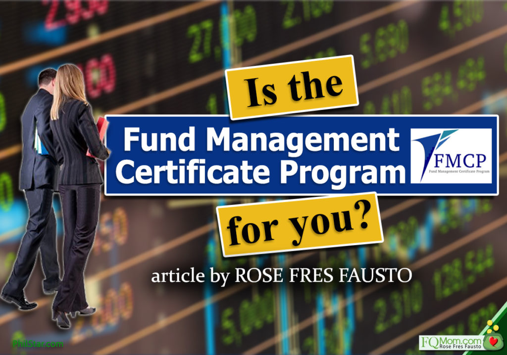 Is the Fund Management Certificate Program (FMCP) for you?