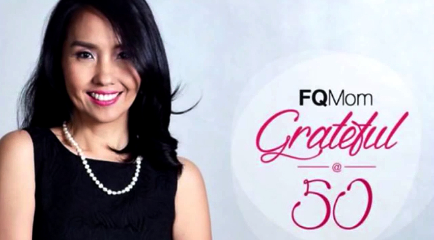 "FQ Mom Grateful @50 ""Ted Talk"""