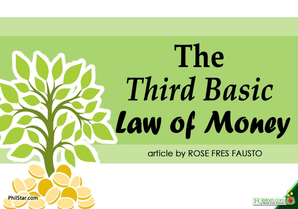 The Third Basic Law of Money
