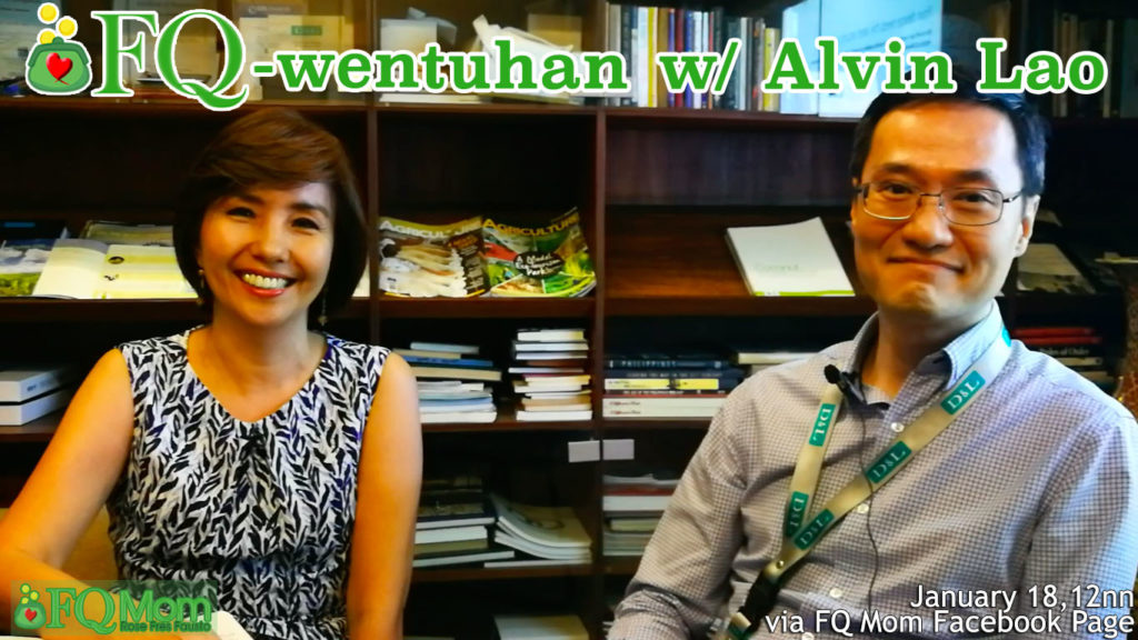 FQwentuhan with Alvin Lao