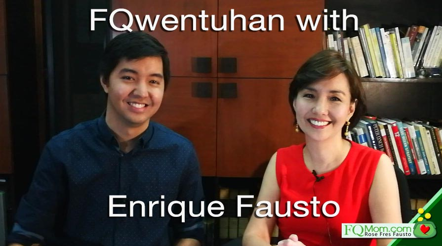 FQwentuhan with Enrique Fausto about TRAIN