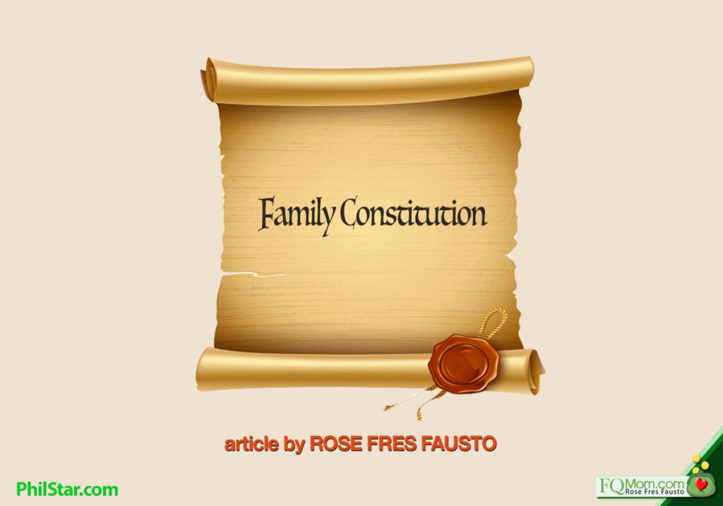 Family Constitution