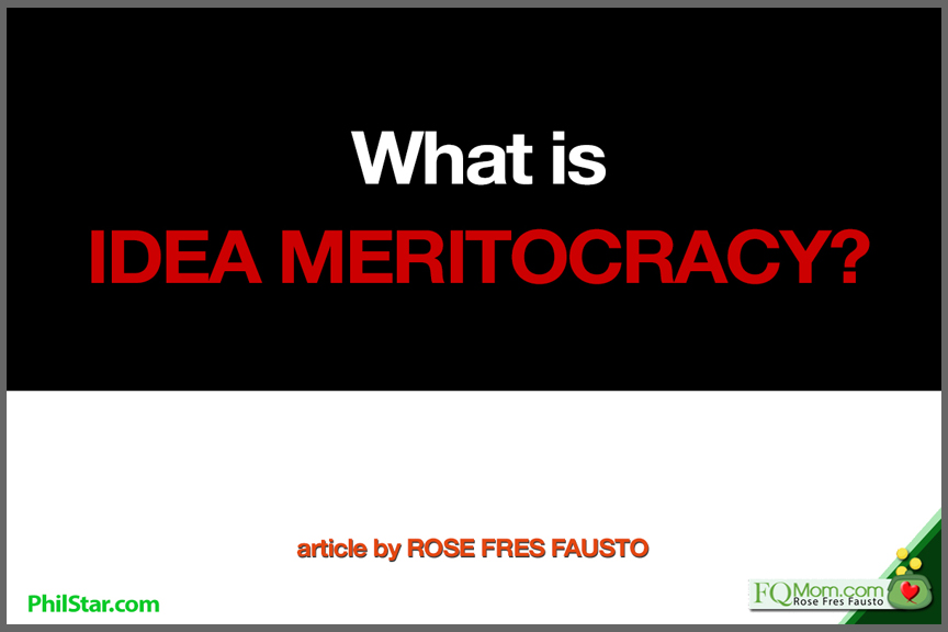 What is Idea Meritocracy?