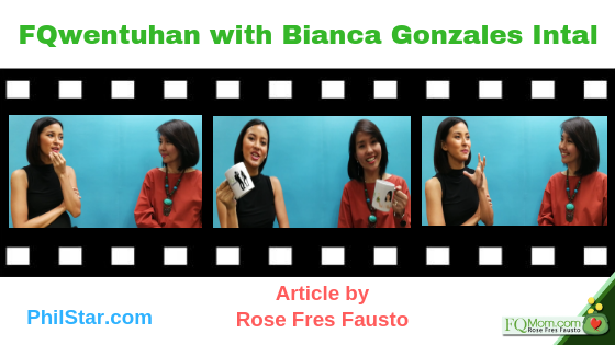 FQwentuhan with Bianca Gonzales Intal