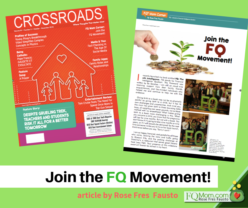 My article on FQ Movement out in Crossroads