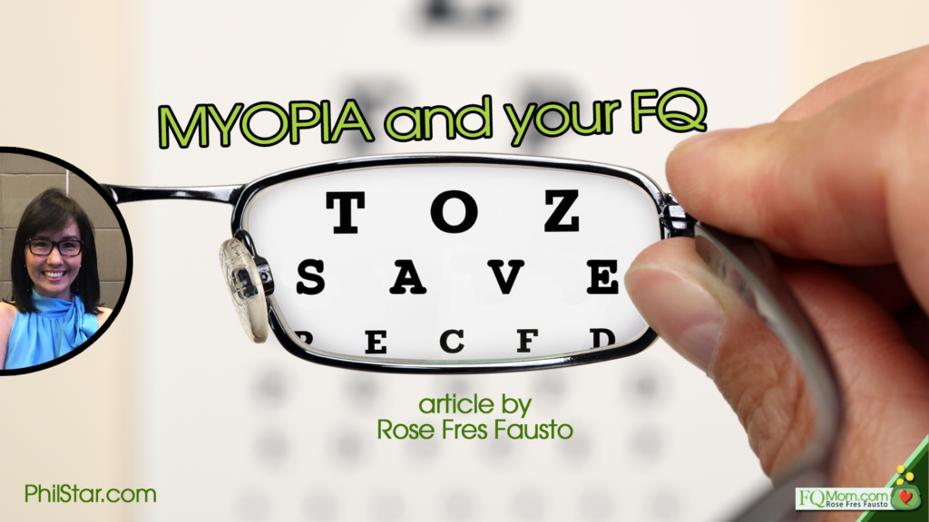 Myopia (and your FQ)