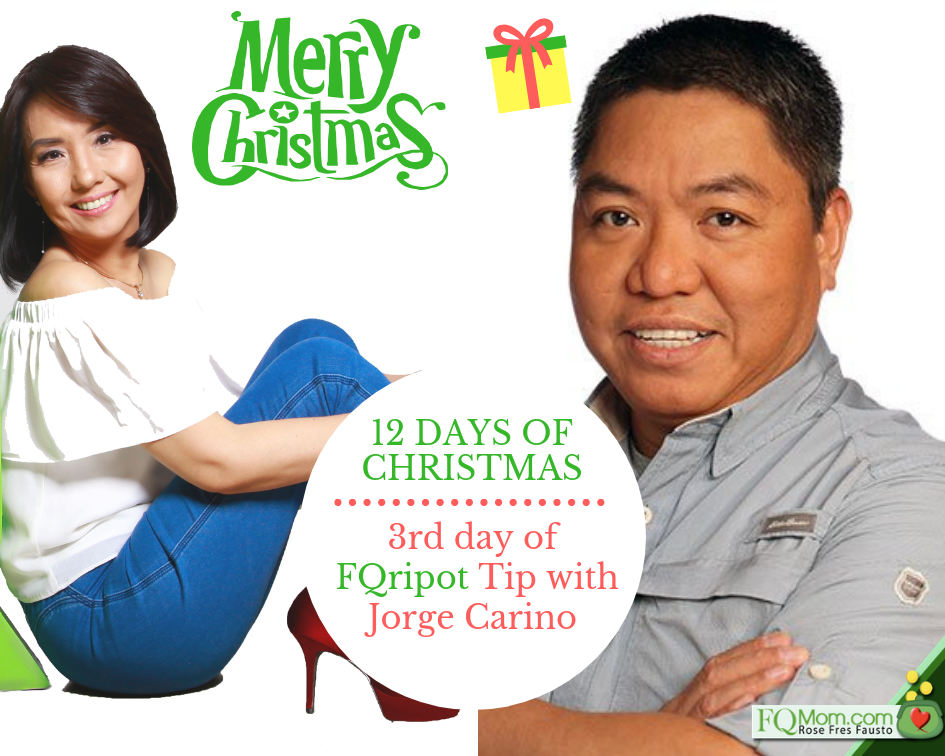 3rd Day of Christmas FQripot Tip