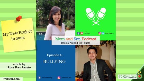 My New Project in 2019: Mom and Son Podcast