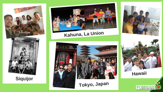 Our yearend activities held in different places – Siquijor, La Union, Japan, Hawaii. But you see, if the budget does not allow for travel, you may still do it at home, just make an event out of it!