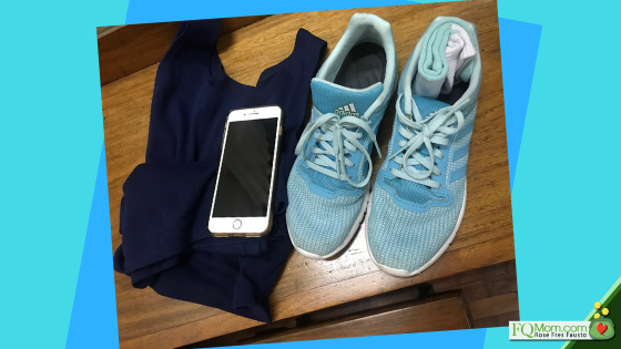 I designed this habit of only turning on my cellphone after I've put on my work-out clothes. This has made it automatic for me to do my exercise everyday!