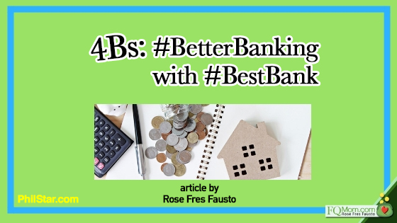 4Bs: #BetterBanking with #BestBank