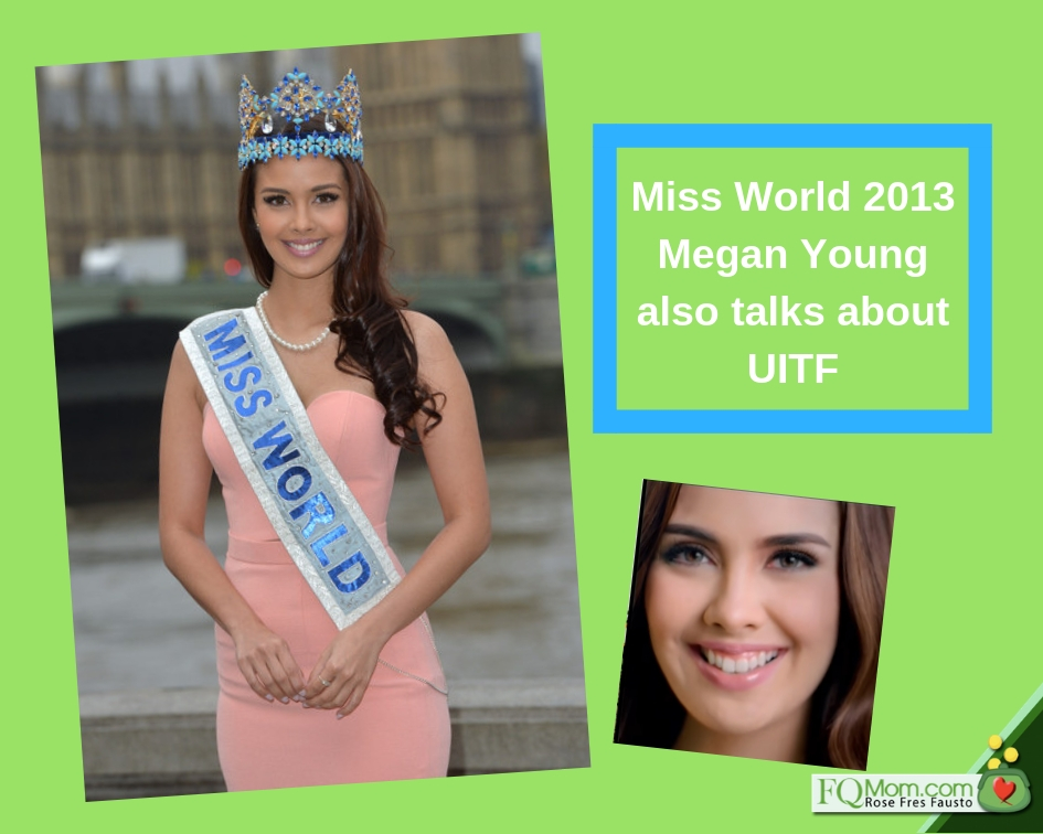 """Miss World Megan Young helped popularize """"UITF"""" among non-finance people."""
