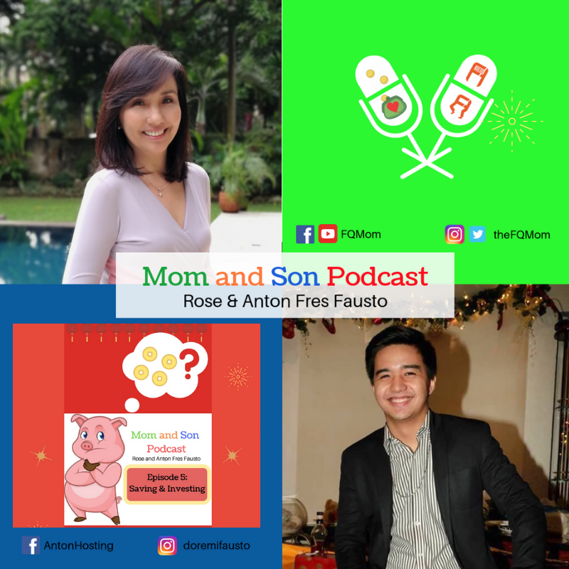 Mom and Son Podcast Episode 5: Saving & Investing